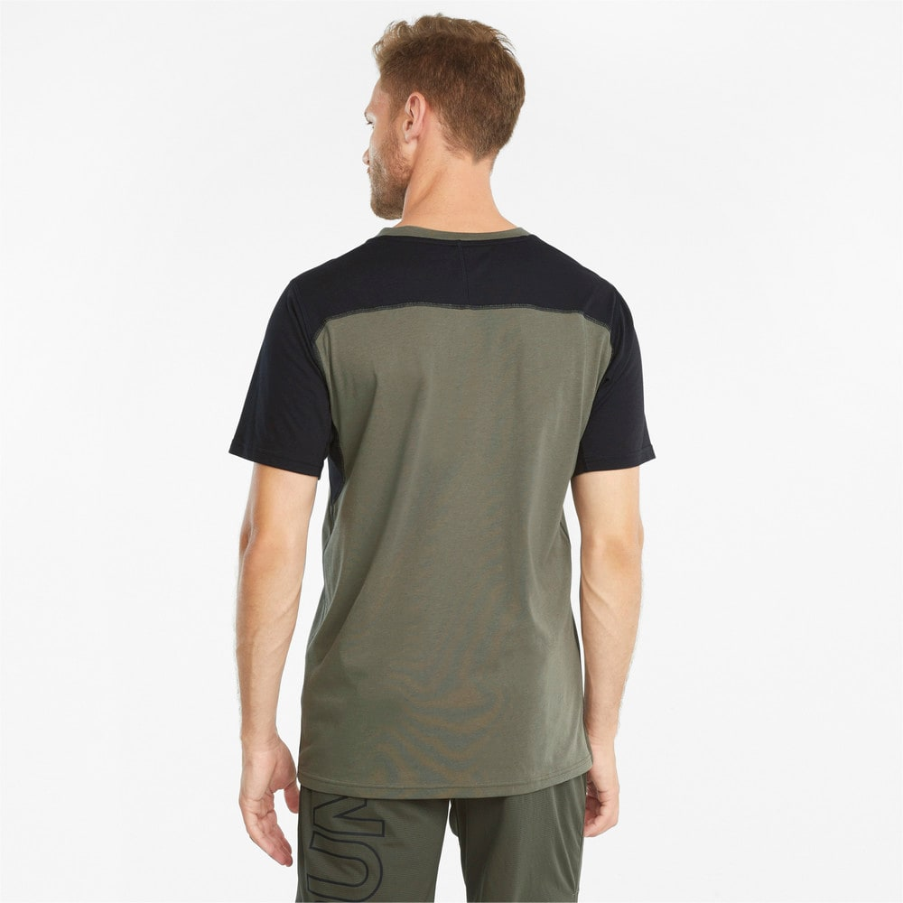 Изображение Puma Футболка Vent Colourblocked Short Sleeve Men's Training Tee #2