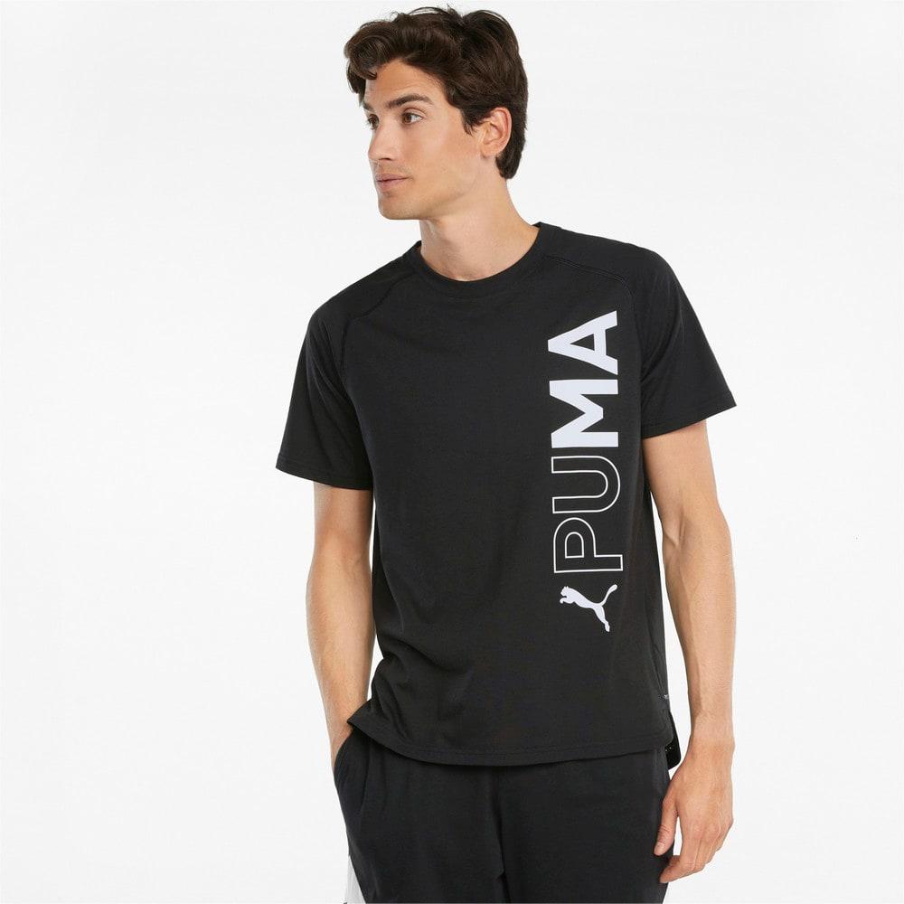 Görüntü Puma Kısa Kollu Erkek Antrenman T-shirt #1