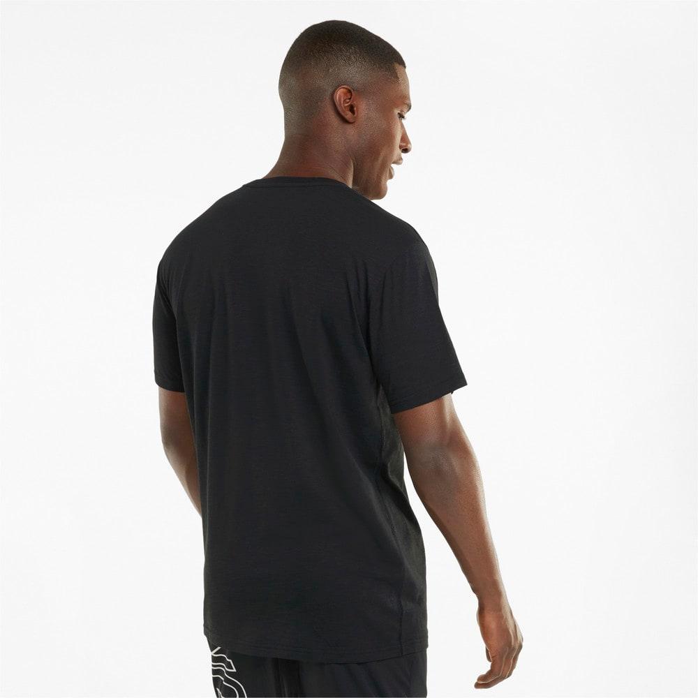 Görüntü Puma PERFORMANCE Slogan Kısa Kesim Erkek Antrenman T-shirt #2