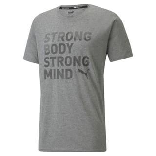 Görüntü Puma PERFORMANCE Slogan Kısa Kesim Erkek Antrenman T-shirt