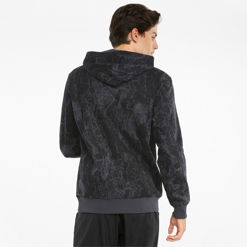 Görüntü Puma PERFORMANCE Baskılı Erkek Antreman Kapüşonlu Sweatshirt #2