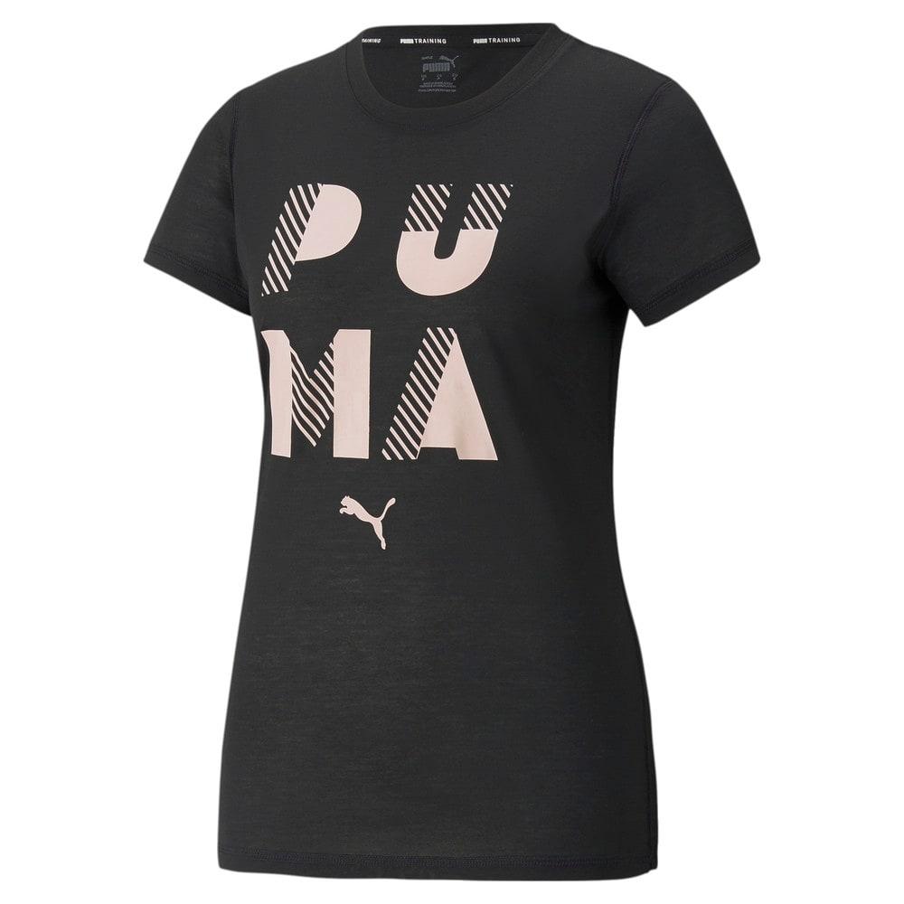 Görüntü Puma PERFORMANCE Branded Kısa Kollu Kadın Antrenman T-shirt #1