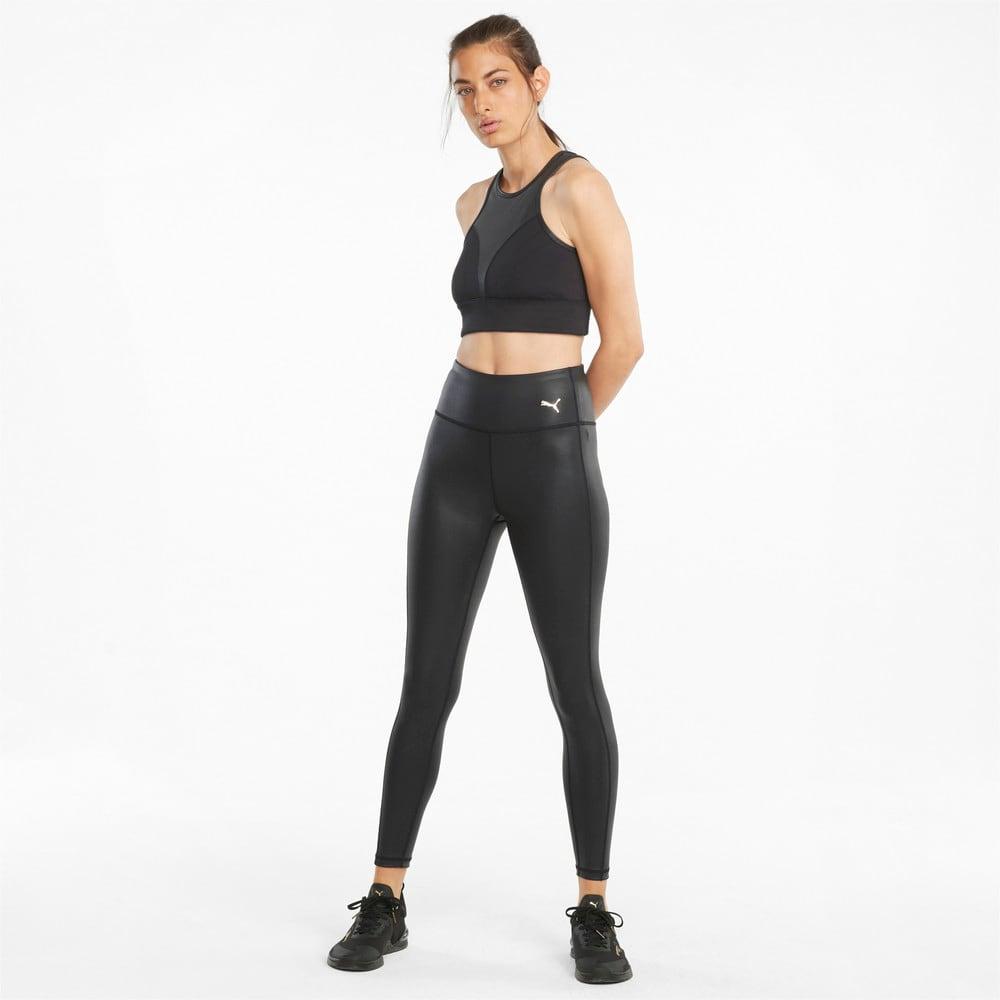 Изображение Puma Леггинсы Moto High Waist 7/8 Women's Training Leggings #2