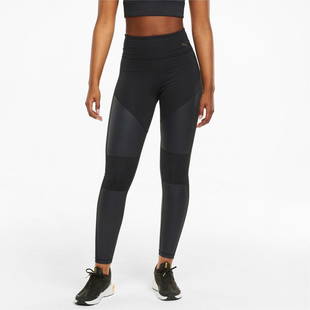 Image Puma Moto High Waist Full Women's Training Leggings #1