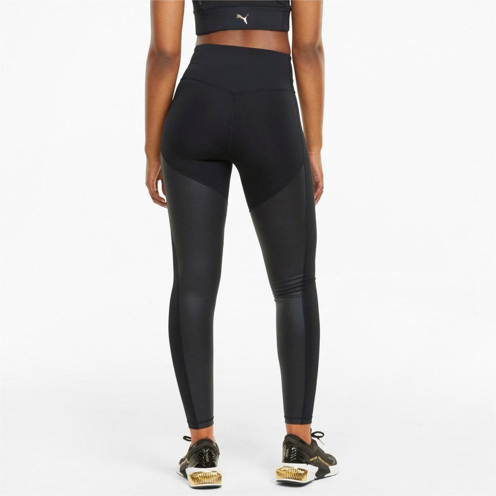Изображение Puma Леггинсы Moto High Waist Full Women's Training Leggings #2: Puma Black
