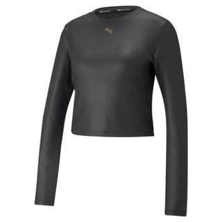 Изображение Puma Футболка с длинным рукавом Moto Fitted Long Sleeve Women's Training Tee