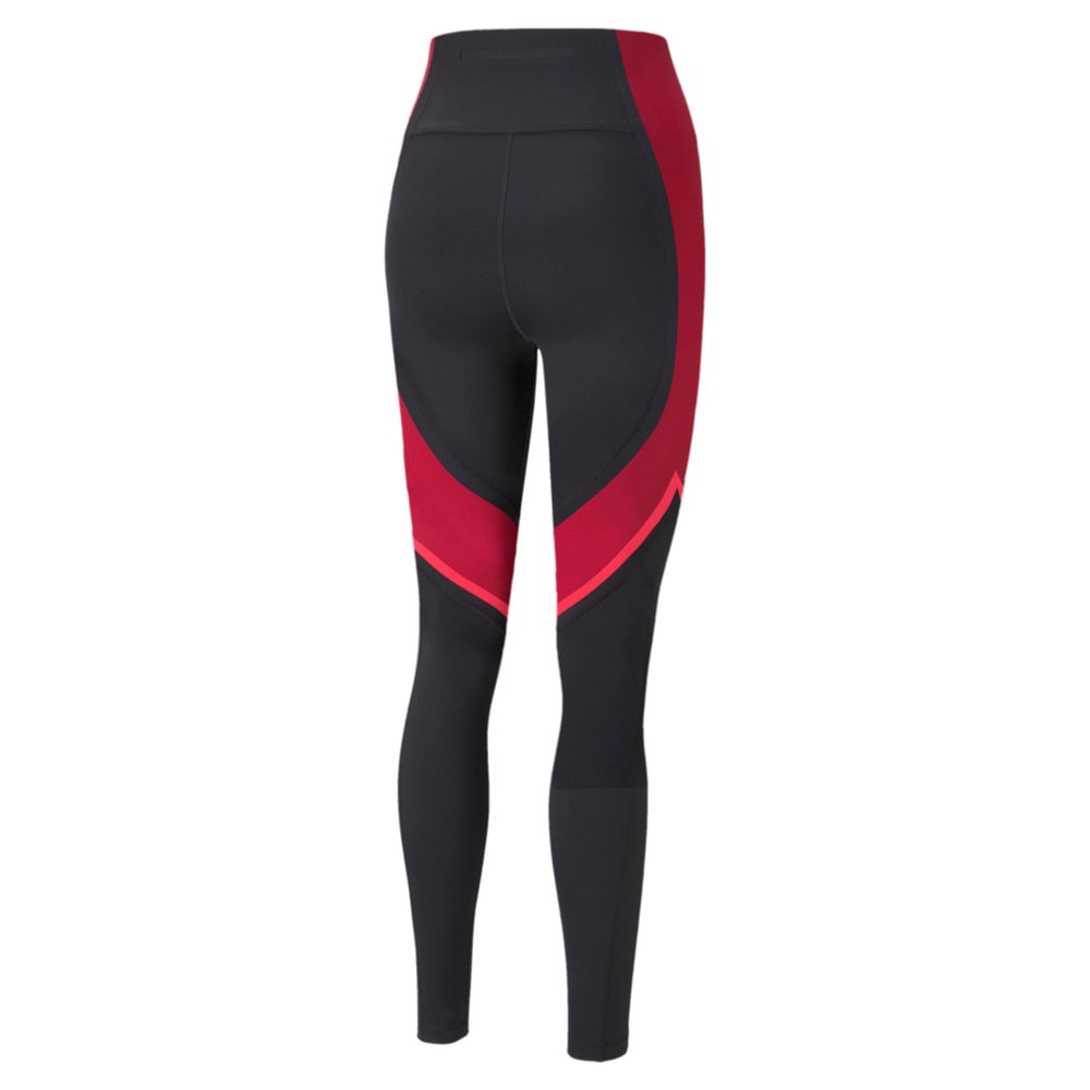 Изображение Puma Леггинсы EVERSCULPT Full-Length Women's Training Leggings #2: Puma Black-Persian Red