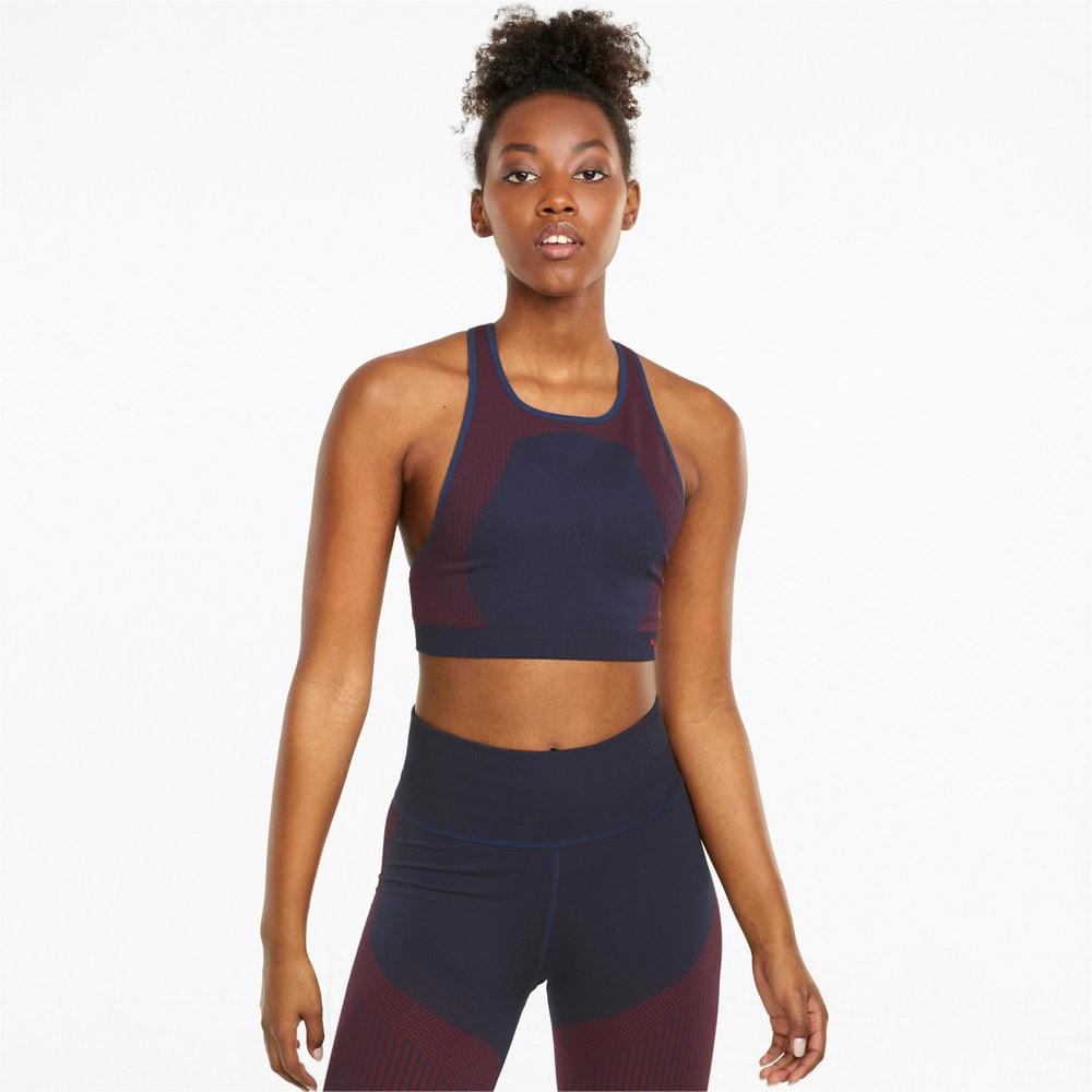 Image Puma Long Line Seamless Women's Training Bra #1