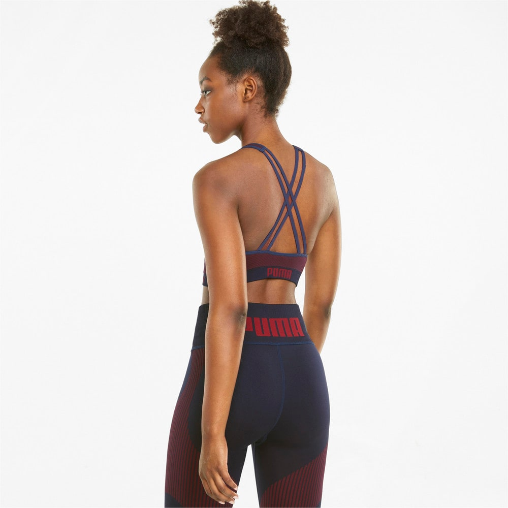 Image Puma Long Line Seamless Women's Training Bra #2