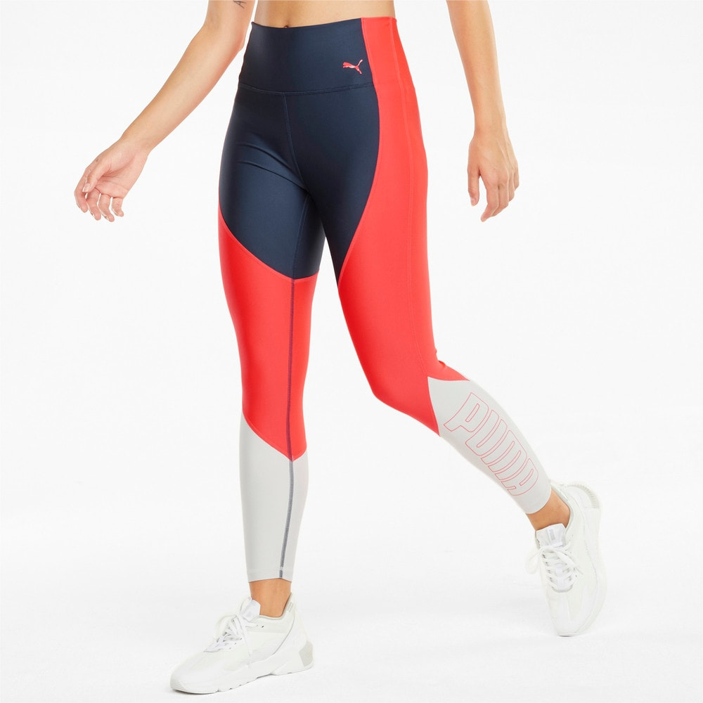 Зображення Puma Легінси EVERSCULPT Logo Women's Training Leggings #1: Sunblaze-Spellbound