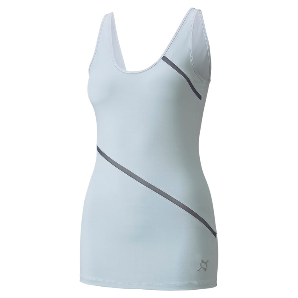 Изображение Puma Майка EXHALE Long Lean Women's Training Tank Top #1: Glacial Blue