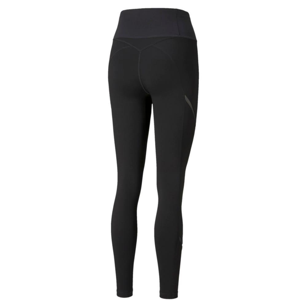 Зображення Puma Легінси EXHALE Mesh Curve Women's Training Leggings #2: Puma Black
