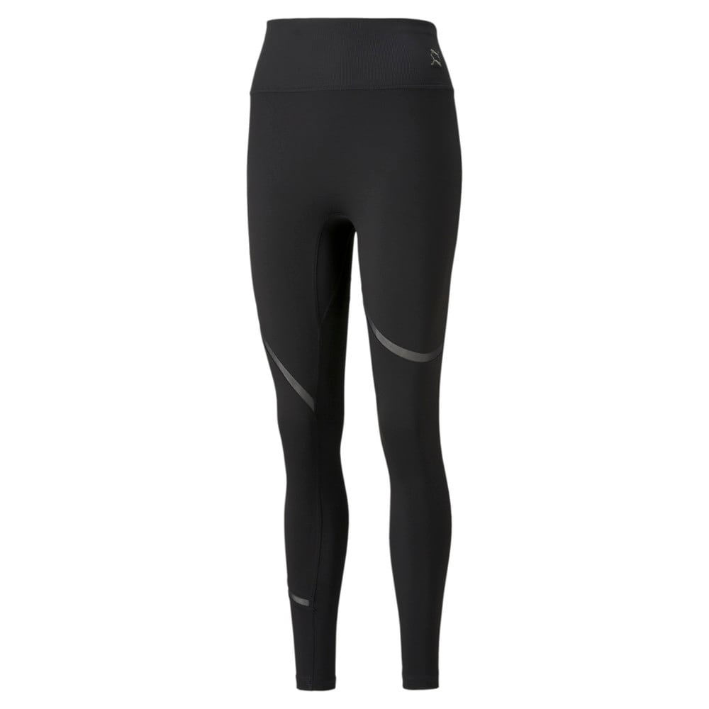 Зображення Puma Легінси EXHALE Mesh Curve Women's Training Leggings #1: Puma Black