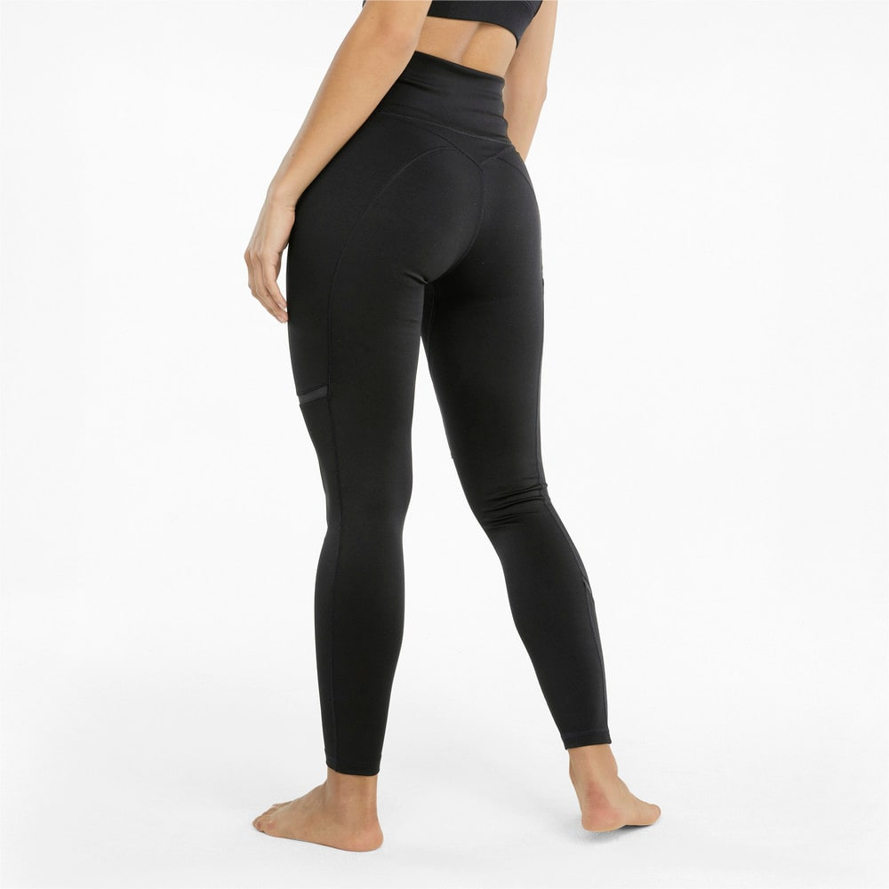 Изображение Puma Леггинсы EXHALE Mesh Curve Women's Training Leggings #2