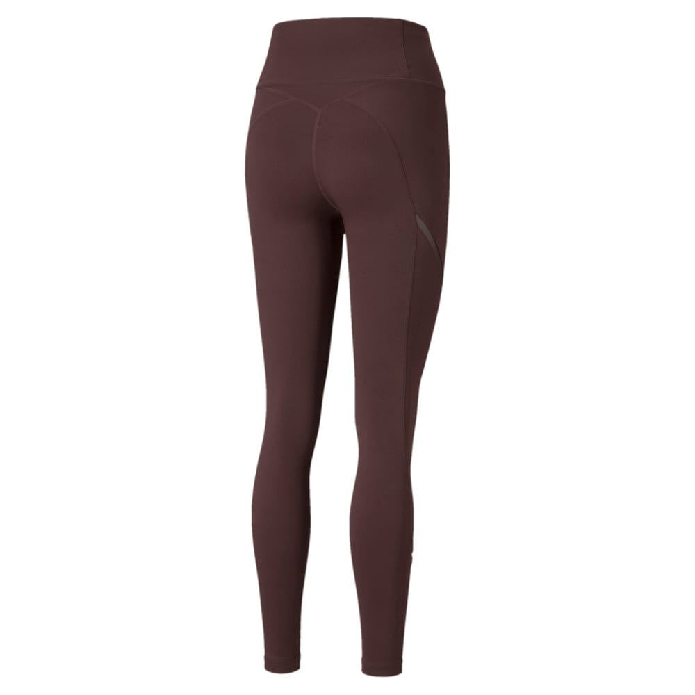Зображення Puma Легінси EXHALE Mesh Curve Women's Training Leggings #2: Fudge