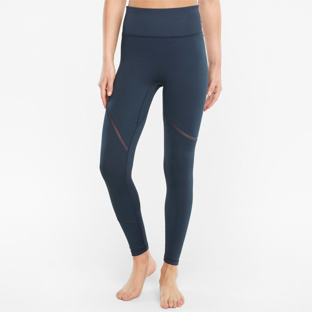 Изображение Puma Леггинсы EXHALE Mesh Curve Women's Training Leggings #1: Spellbound
