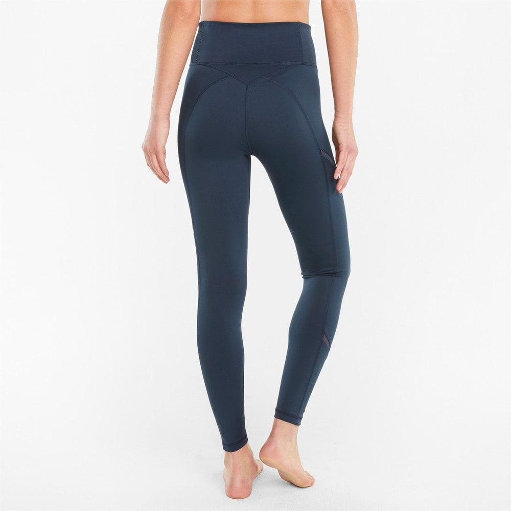 Изображение Puma Леггинсы EXHALE Mesh Curve Women's Training Leggings #2: Spellbound