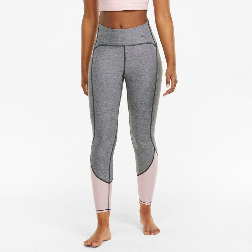 Imagen PUMA Leggings de training de largo 7/ 8 con cintura alta para mujer STUDIO Yogini #1