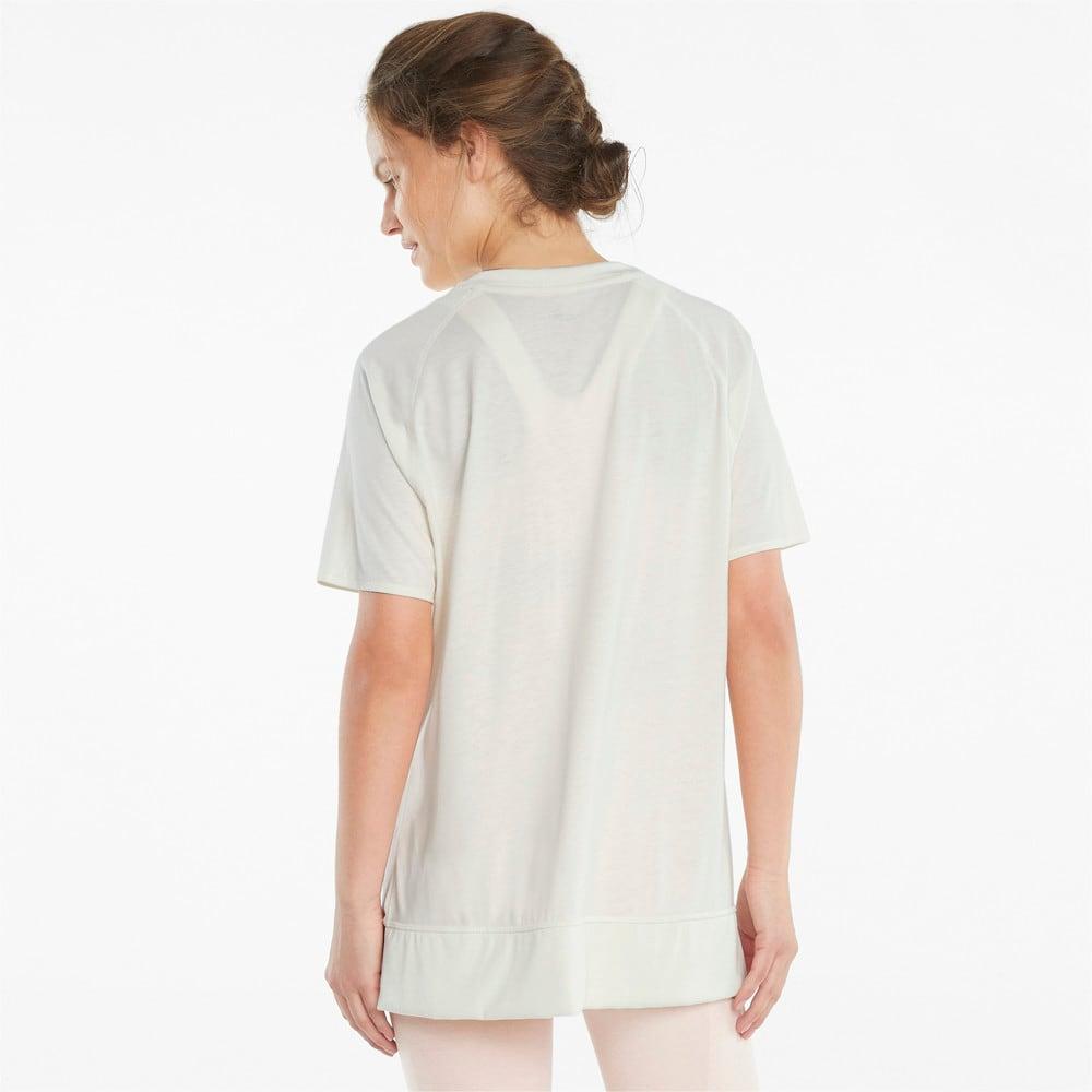 Image PUMA Camiseta STUDIO Relaxed Ribbed Trim Training Feminina #2