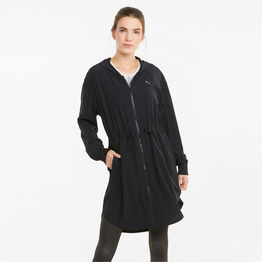Изображение Puma Куртка STUDIO Flow Women's Training Jacket #1: Puma Black