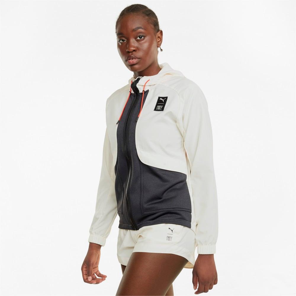 Изображение Puma Куртка PUMA x FIRST MILE Woven Women's Training Jacket #1