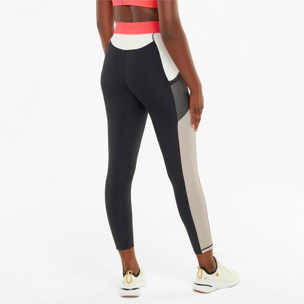 Зображення Puma Легінси PUMA x FIRST MILE High Waist 7/8 Women's Training Leggings #2: Puma Black-Ivory Glow