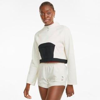 Изображение Puma Толстовка PUMA x FIRST MILE Mock Neck Women's Training Pullover