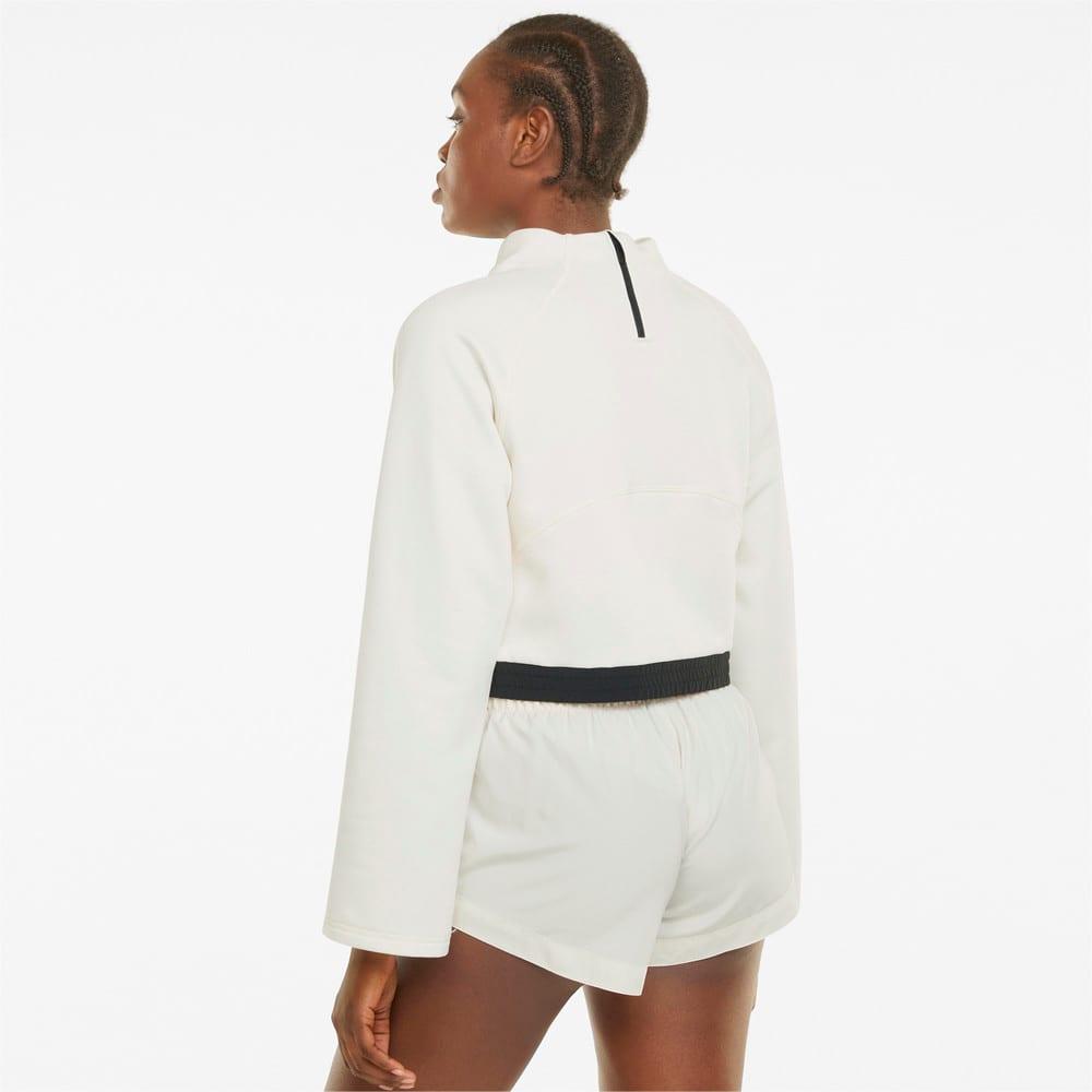 Зображення Puma Толстовка PUMA x FIRST MILE Mock Neck Women's Training Pullover #2: Ivory Glow