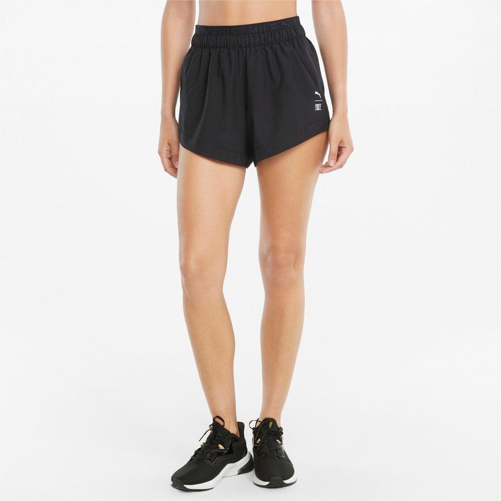 Изображение Puma Шорты PUMA x FIRST MILE Woven Women's Training Shorts #1
