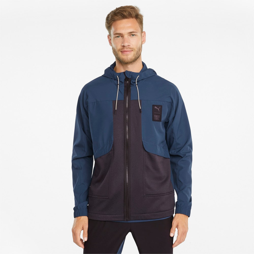 Изображение Puma Куртка PUMA x FIRST MILE Woven Men's Training Jacket #1