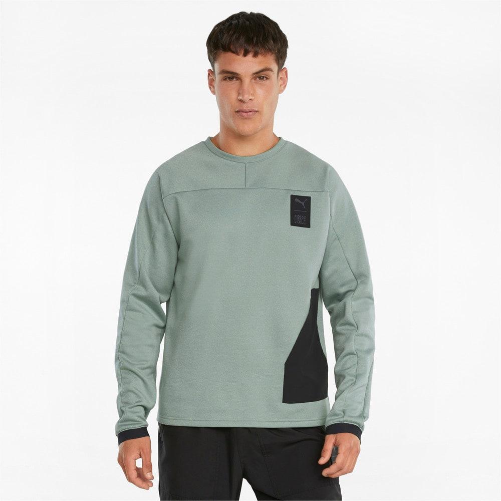 Изображение Puma Толстовка PUMA x FIRST MILE Men's Training Sweatshirt #1: Jadeite