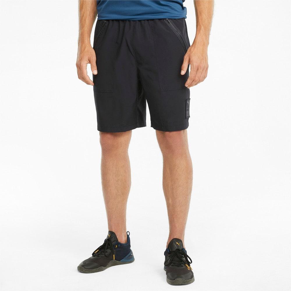 Изображение Puma Шорты PUMA x FIRST MILE Woven Men's Training Shorts #1: Puma Black