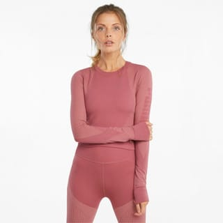 Image PUMA Camiseta Seamless Long Sleeve Fitted Training Feminina