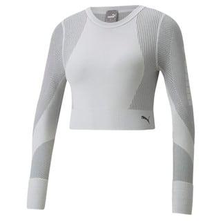 Зображення Puma Футболка з довгим рукавом Seamless Long Sleeve Fitted Women's Training Tee