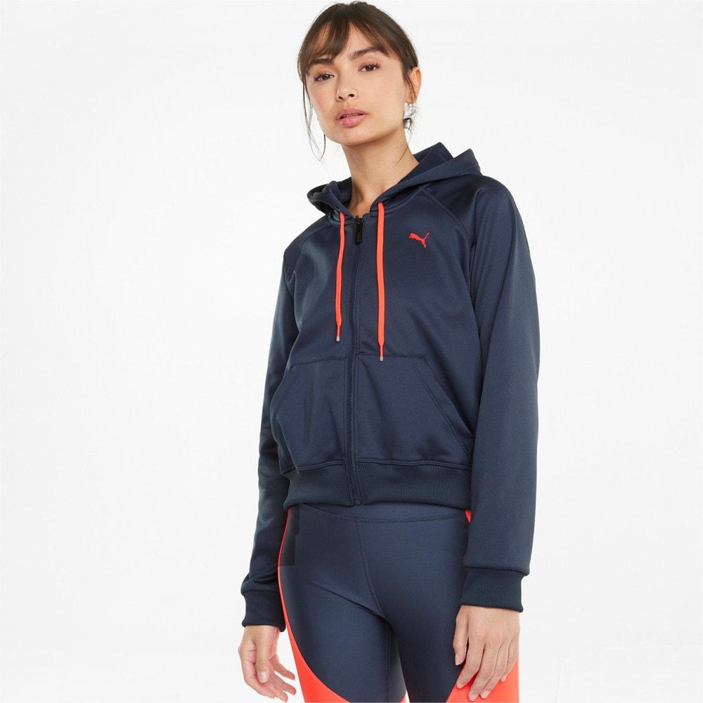 Изображение Puma Толстовка PWR Fleece Women's Full-Zip Sweatshirt #1: Spellbound