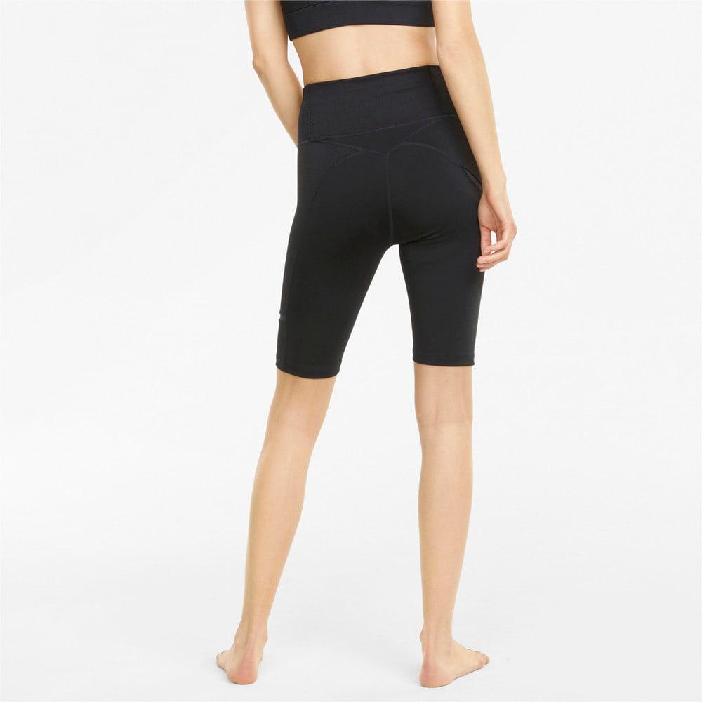 Зображення Puma Шорти Exhale Mesh Curve Women's Training Bike Shorts #2: Puma Black