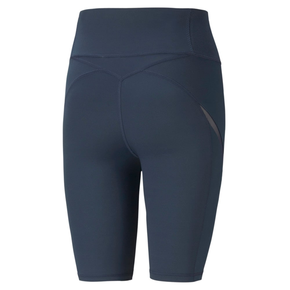Изображение Puma Шорты Exhale Mesh Curve Women's Training Bike Shorts #2