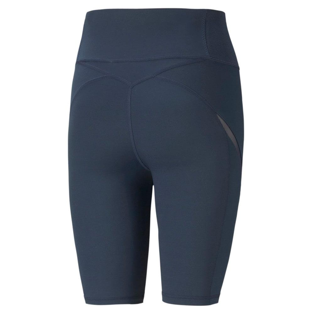 Изображение Puma Шорты Exhale Mesh Curve Women's Training Bike Shorts #2: Spellbound