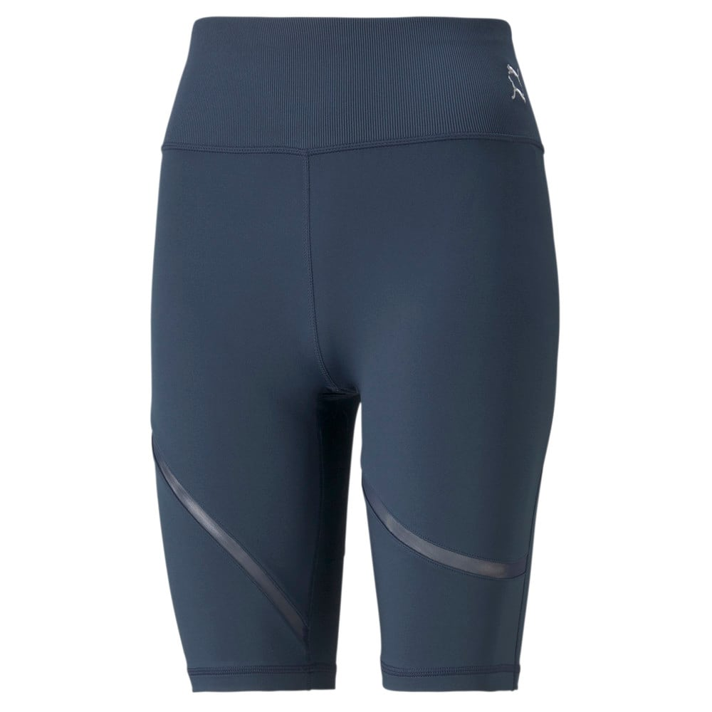Изображение Puma Шорты Exhale Mesh Curve Women's Training Bike Shorts #1: Spellbound