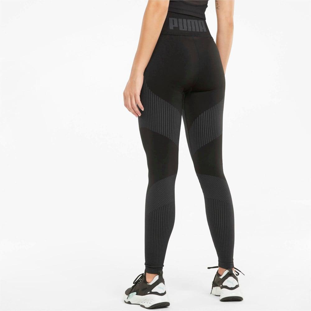 Зображення Puma Легінси Seamless High Waist 7/8 Women's Training Leggings #2: Puma Black-Asphalt