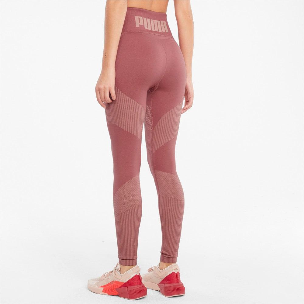 Изображение Puma Леггинсы Seamless High Waist 7/8 Women's Training Leggings #2: Mauvewood-Peach Parfait