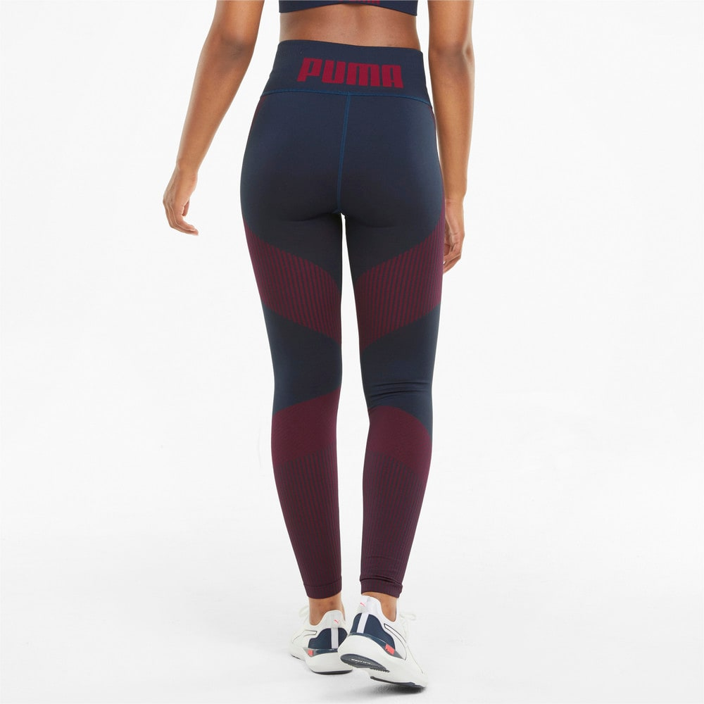 Imagen PUMA Leggings de training de largo 7/8 con cintura alta para mujer Seamless #2