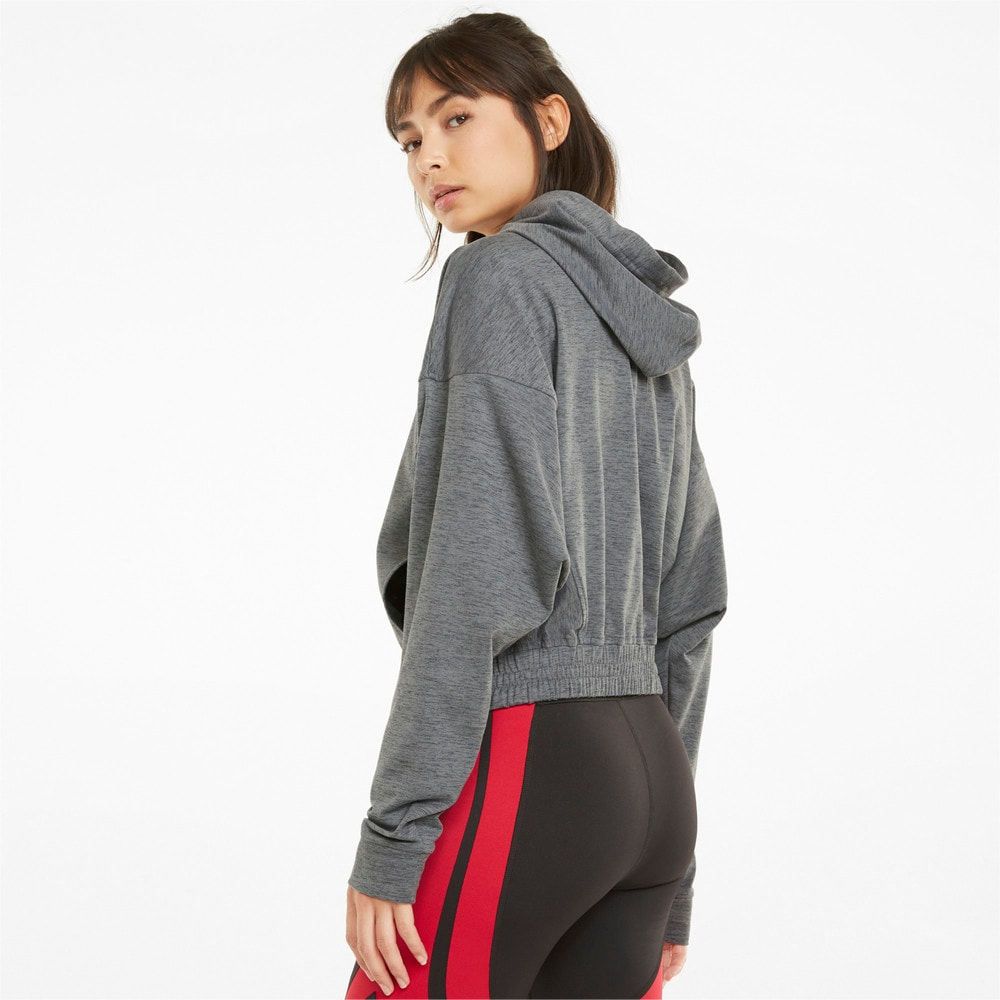 Imagen PUMA Chaqueta de training con capucha y cierre completo para mujer CLOUDSPUN #2