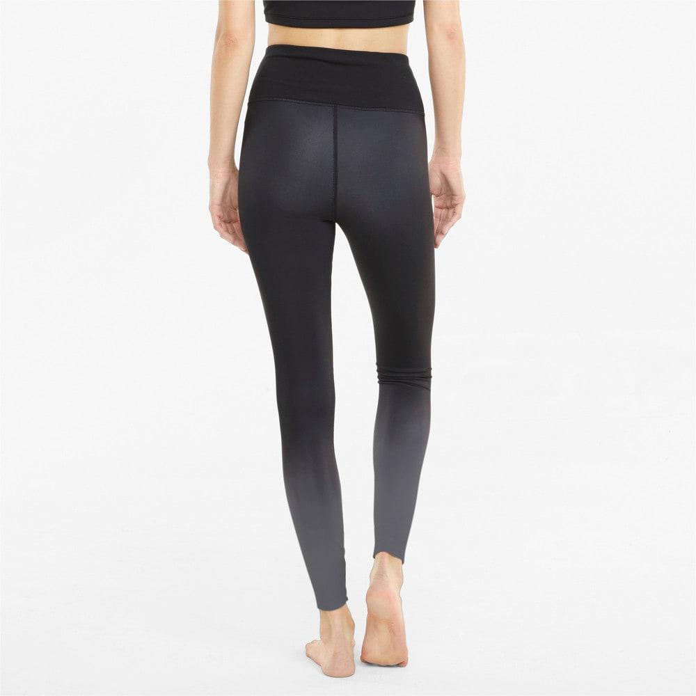 Зображення Puma Легінси STUDIO Ombre High Waist Full-Length Women's Training Leggings #2: Puma Black-Asphalt-ombre print
