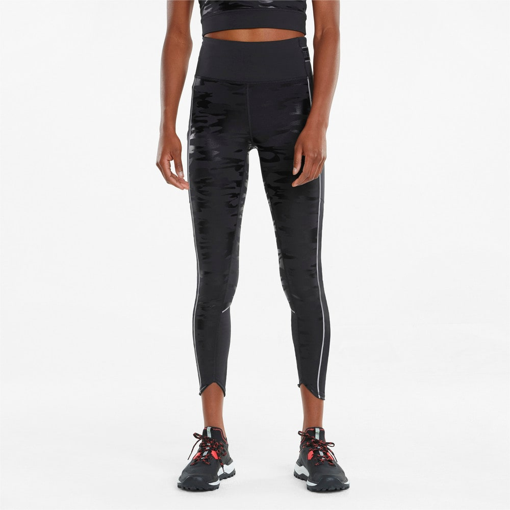 Image PUMA Legging High Shine High Waist Running 7/8 Feminina #1