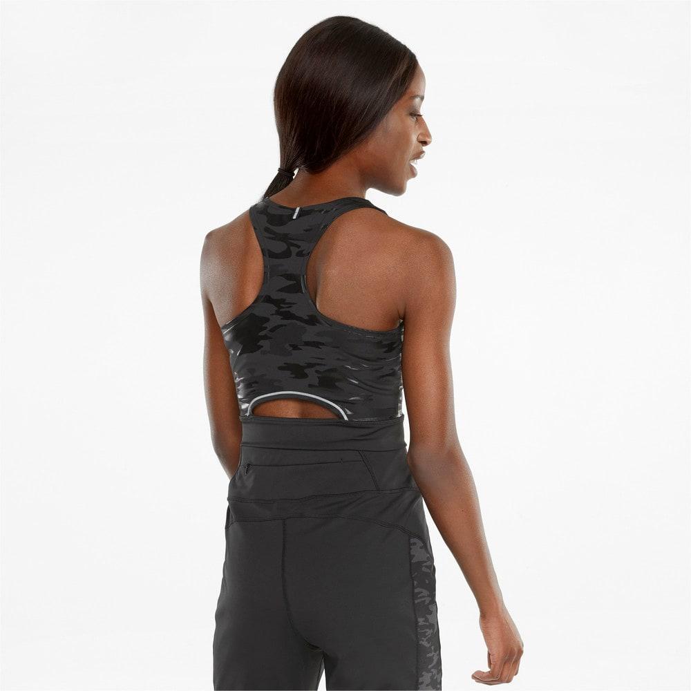 Imagen PUMA Top de running sin mangas y corte por encima de la cintura para mujer High Shine #2