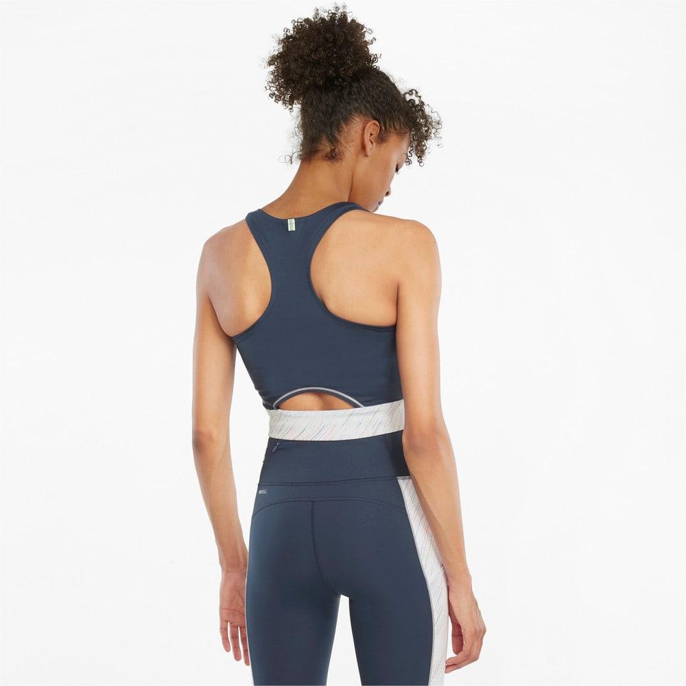 Image Puma High Shine Cropped Women's Running Tank Top #2