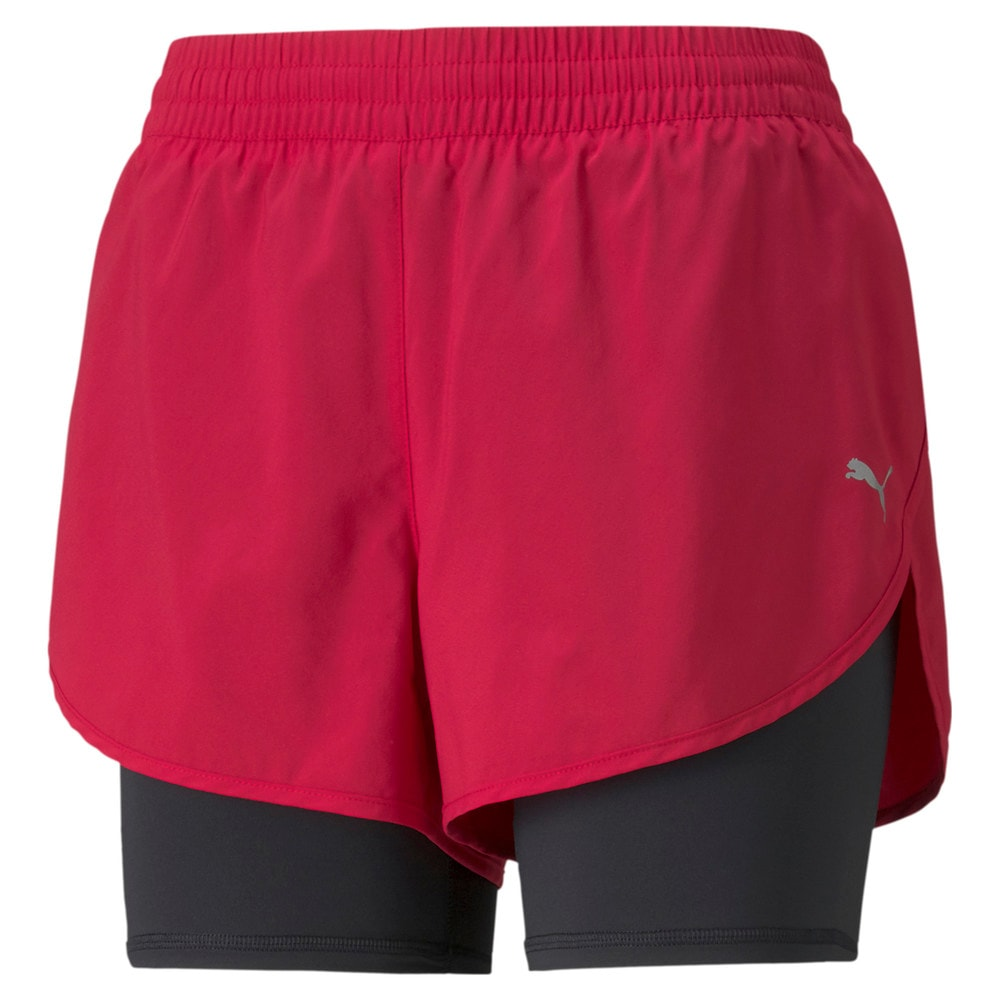Image PUMA Shorts 2-em-1 Woven Running Feminino #1
