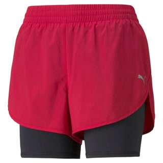 Image PUMA Shorts 2-em-1 Woven Running Feminino