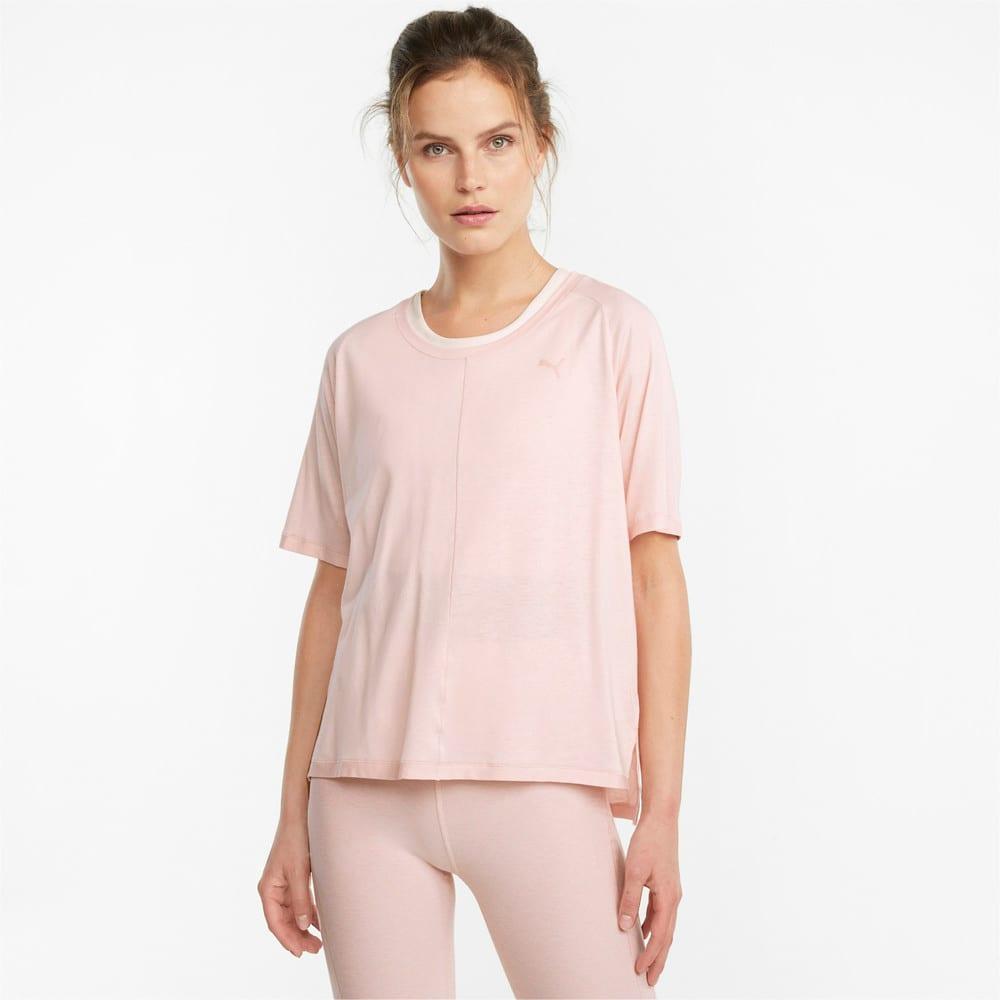 Image PUMA Camiseta STUDIO Tri Blend Relaxed Training Feminina #1